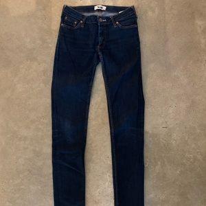 Acne Kex Raw Soft Skinny Jean 28/34